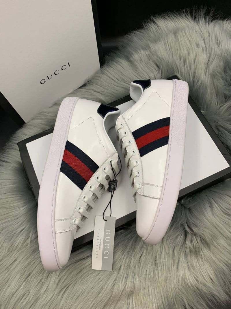 รองเท้าผ้าใบ กุซชี่่ หนังแท้ วัยรุ่นนิยมกัน Gucci_gg_hiend.
