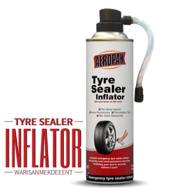 สั่งซื้อ สเปรย์ปะยาง อุปกรณ์ปะยาง Aeropak Tyre Sealer Inflator พร้อมเติมลมยางฉุกเฉิน ป้องกันลมรั่ว ยางซึม By Shop Ez.