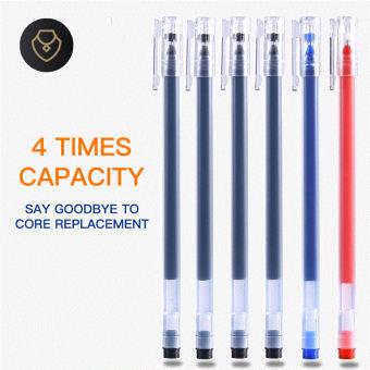 MSB876  Large capacity 0.5mm full needle tube straight liquid gel pen wholesale student office signature pen water-based pen carbon pen