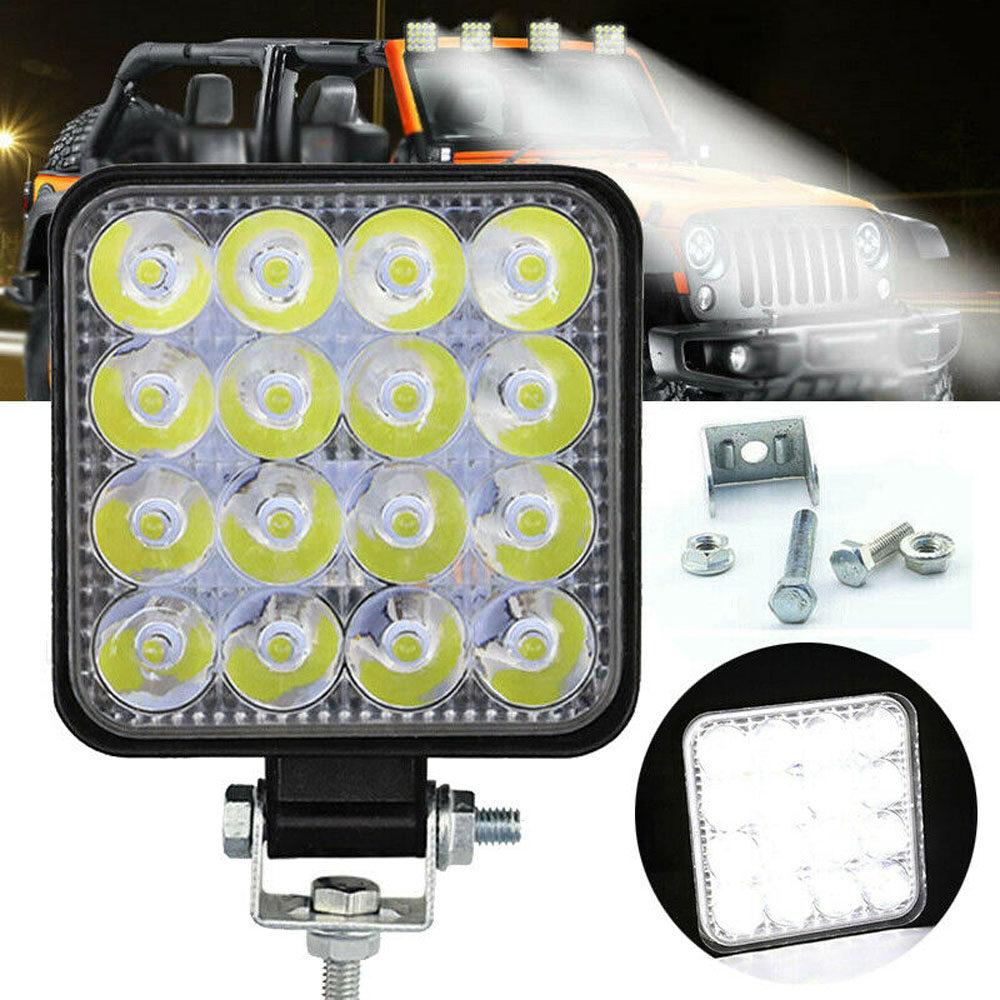 NZOAT Phụ Kiện Xe Hơi Bền Chất Lượng Cao, 48W Spotlight Đèn Chiếu Địa Hình Tạo Kiểu Cho Xe Hơi LED Làm Việc Ánh Sáng Đèn Sương Mù Xe Hơi