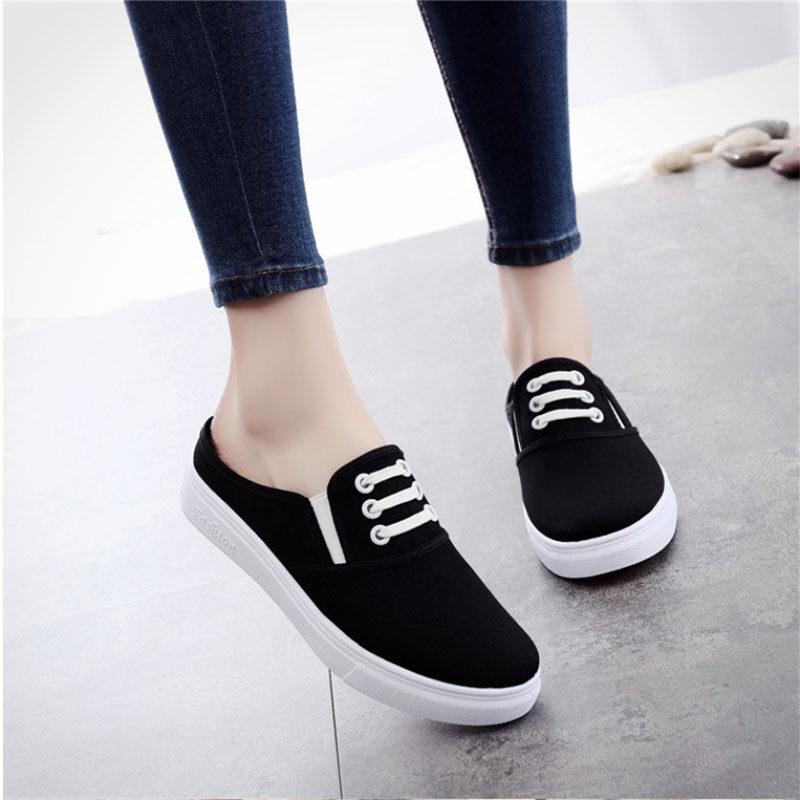 *amandad Stores* รองเท้าสลิปออนลายไทย.