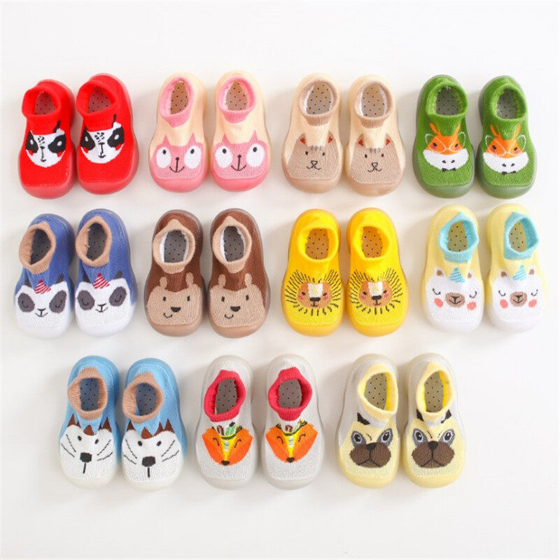 Little Lucky Baby รองเท้าเด็ก รองเท้าหัดเดิน รองเท้าพื้นยางกันลื่นa42.