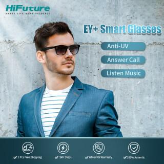 [Kính thông minh đầu tiên năm 2021] Kính thông minh HiFuture EY + Bluetooth Kính thông minh Bluetooth Bass HiFi Kính mát thông minh cảm ứng cuộc gọi rảnh tay Kính mát có micrô và loa (Có thể sạc lại) thumbnail