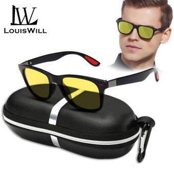 [พร้อมส่งในไทย!] Louiswill แว่นกันแดดผู้ชาย แว่นตาแฟชั่นผู้ชาย แว่นตาผู้ชาย แว่นโพลาไรซ์ สำหรับผู้ชาย แว่นตาสำหรับขับรถ
