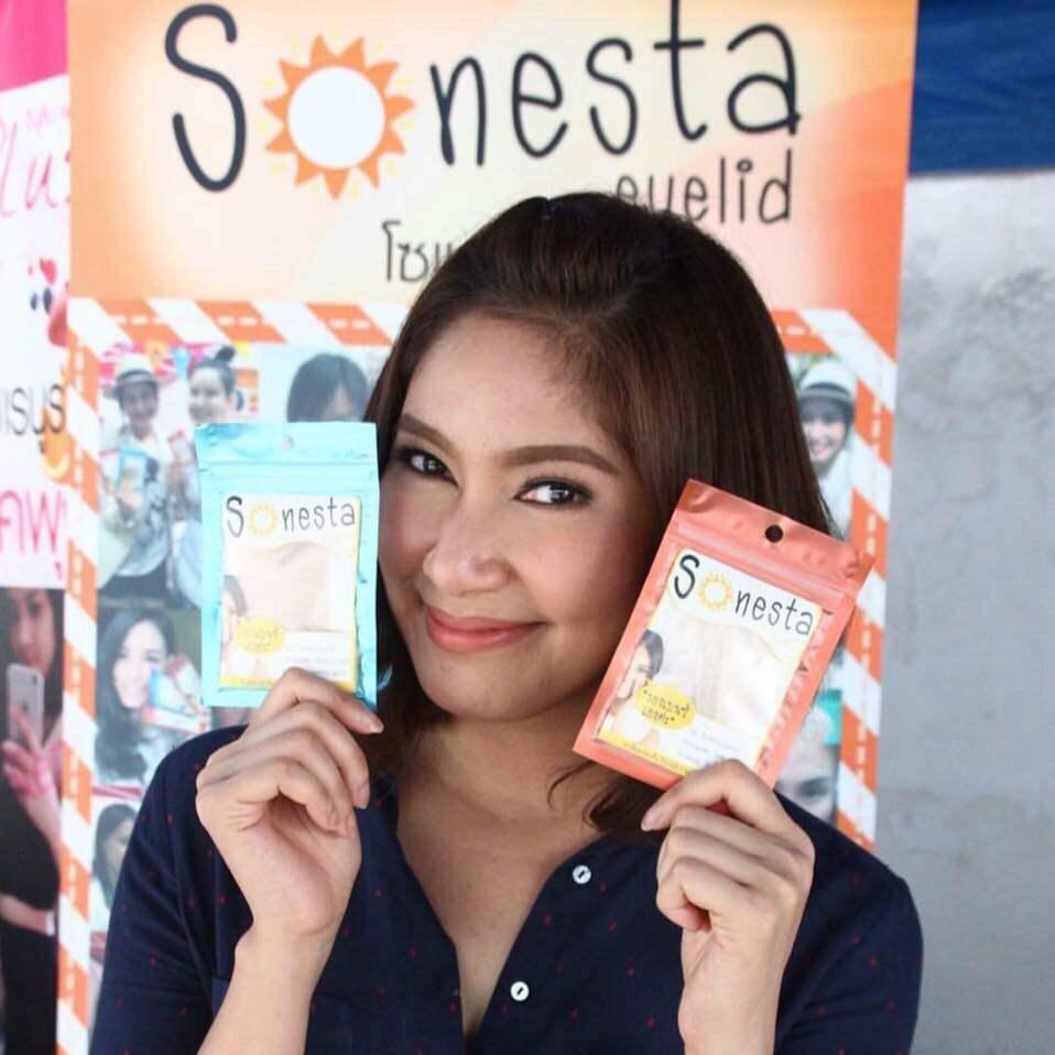[ Promotion ] Sonesta Eyelid ตาข่ายติดตา 2 ชั้น เนียน บาง เบา ดูเป็นธรรมชาติ.