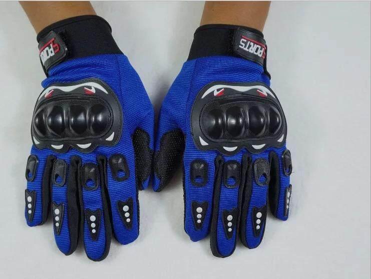 ถุงมือขับมอเตอร์ไซค์ ทัชสกรีนได้ Pro-Biker ป้องกันการบาดเจ็บที่มือ ระบายอากาศดี (ฟรีไซต์) Touched Screen Gloves For Motorcycle.