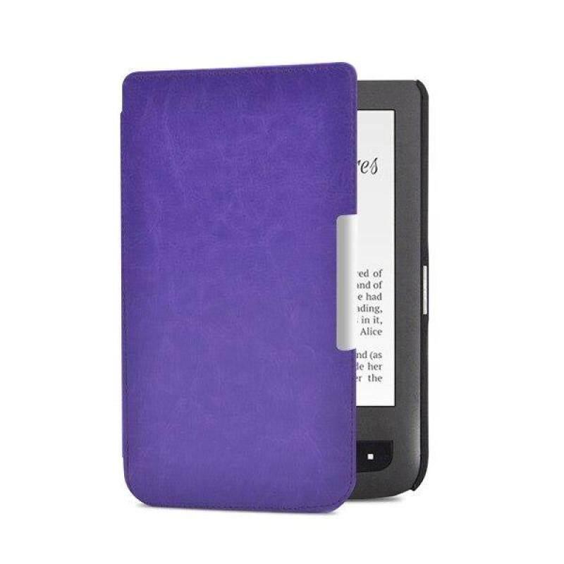 Bao da Folio PU cho pocketbook 614/624 /626 Plus cho pocketbook Touch Lux 3 E-reader vỏ bìa sách điện tử + Quà Tặng Miễn Phí