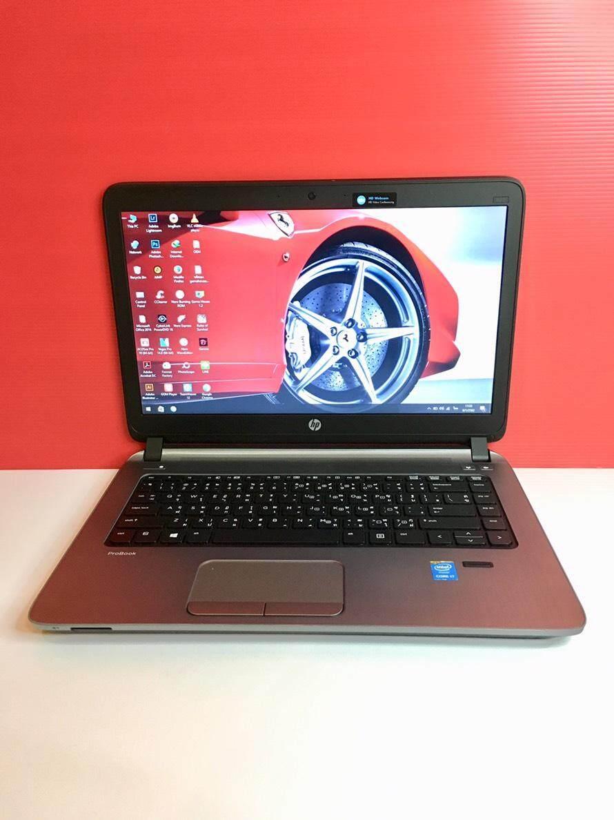 โน๊ตบุ๊ค Notebook Hp440 Core I7 Gen5 (ram 8 Gb) By Niceit..