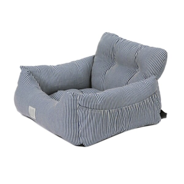 Dog Car Seat Bed Sofa Travel Dog Car Seats Cover for Small Medium Dogs Front/Back Seat Pet Booster Seat