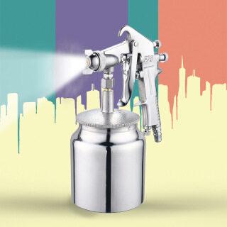 Súng phun lộn ngược IH Model F75 và hệ thống hút sơn đáy cốc F75 Vòi phun 1.5 dốc ngược Kiểu trọng lực Model F75G (Bạc) thumbnail