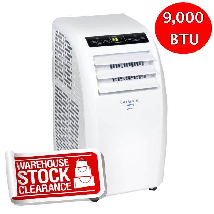 Best Seller เครื่องปรับอากาศแบบเลื่อนที่ได้ 9,000 Btu Natural Brand Nap-8090.