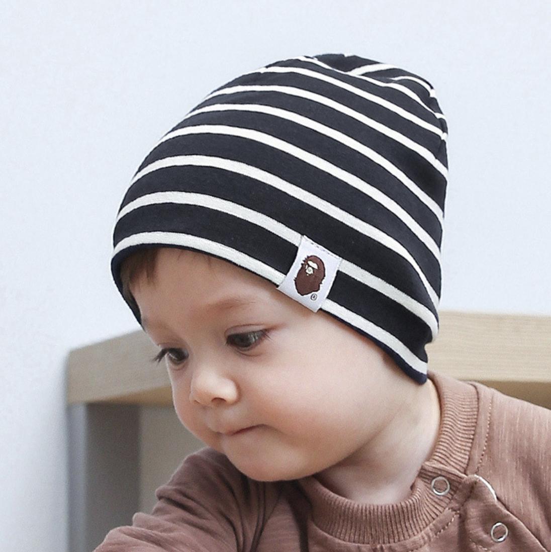 หมวกเด็กทารก หมวกเด็กวัยหัดเดิน หมวกกันหนาว หมวกเด็กทรงเกาหลี.