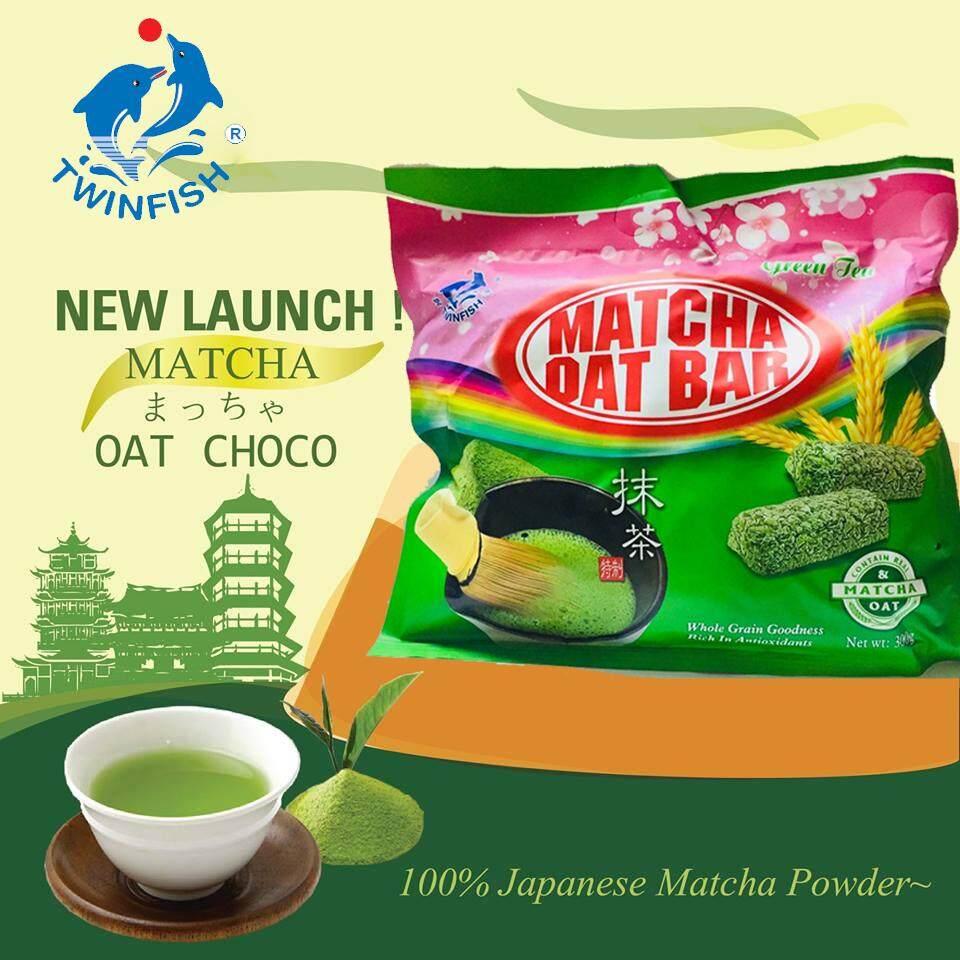 Oat Choco ขนมข้าวโอ้ต ธัญพืชอัดแท่ง ชาเขียวมัทฉะ แท้ 100%  Japanese Macha Power.