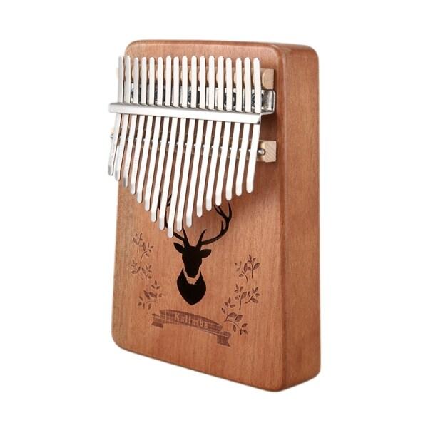17 Keys Kalimba African Thumb Finger Piano Musical Malaysia