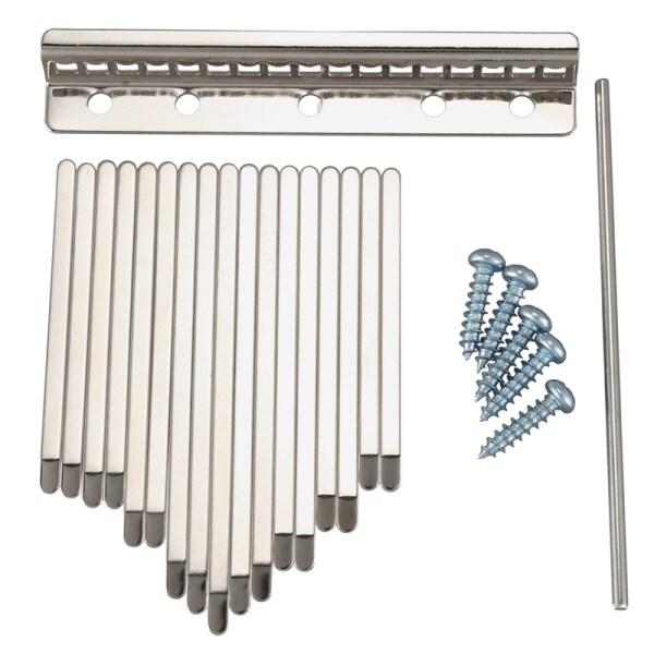Thumb Piano Bridge Saddle 17 Keys Set Kit for Kalimba DIY Replacement Parts Malaysia