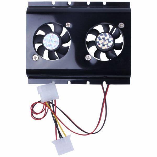 Bảng giá Black 3.5 SATA IDE Hard Disk Drive HDD 2 Fan Cooler for PC Phong Vũ