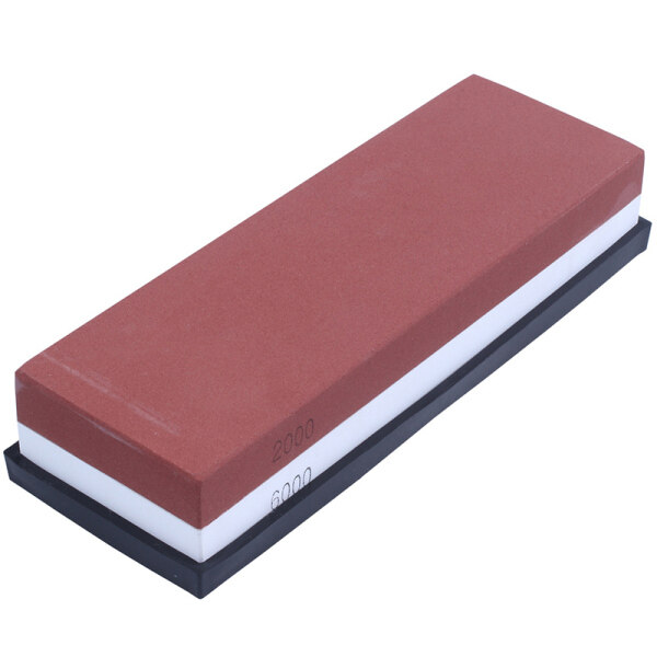Whetstone Knife Sharpener, Professional Sharpening Stone 2000/6000 Girt Water Stone For Knives