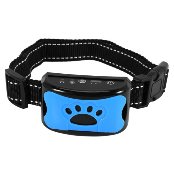 Dog Bark Collar - Stop Dogs Barking Fast Safe Anti Barking Devices Training Control Collars No Shock Remote Sound Vibration Training Device