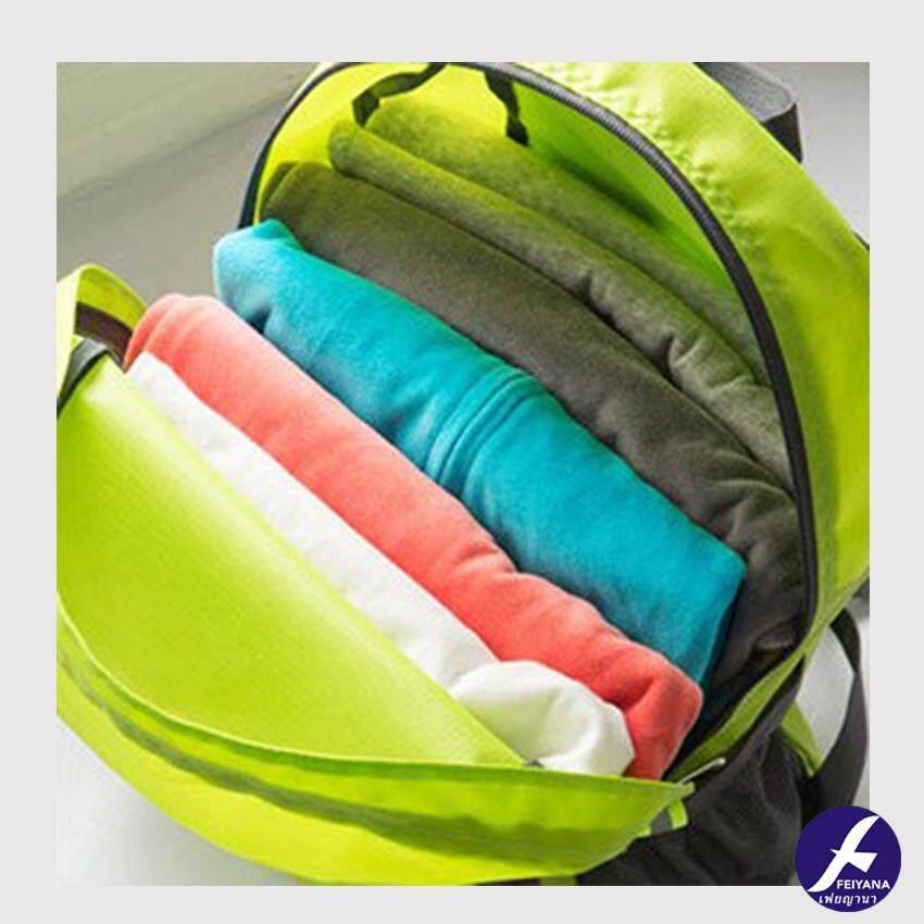 Image 4 for Back Pack กระเป๋าเป้ พับเก็บได้อเนกประสงค์ กระเป๋าเดินทาง กระเป๋าถือ รุ่น BF-QS044