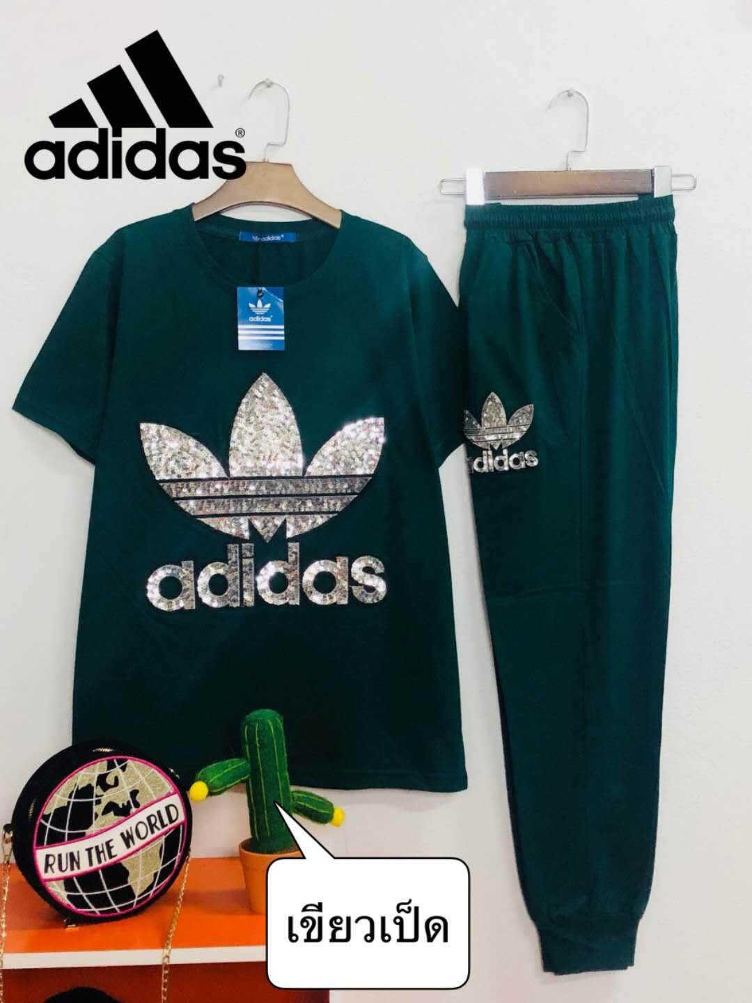 Adidas Women's Fashion Casual Comfortable Sportswear One Set