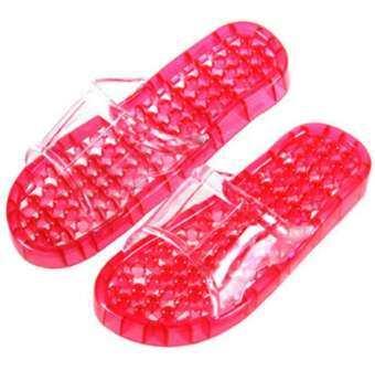 รองเท้านวด เพื่อสุขภาพ สีชมพู