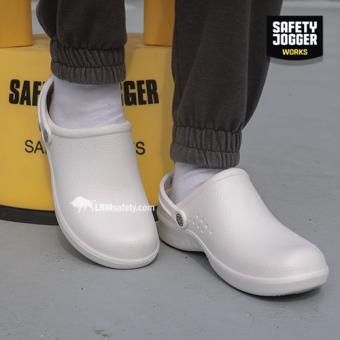 Safety Jogger รุ่น Bestlight (สีขาว) รองเท้ายางกันลื่น