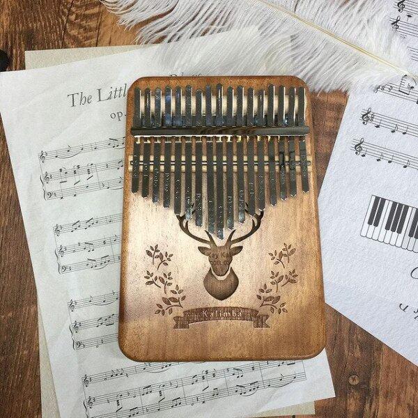 17 Keys Kalimba Thumb Piano High Quality Wood Mahogany Mbira Body Musical Instruments With Learning Book Kalimba Bag For Vip Malaysia
