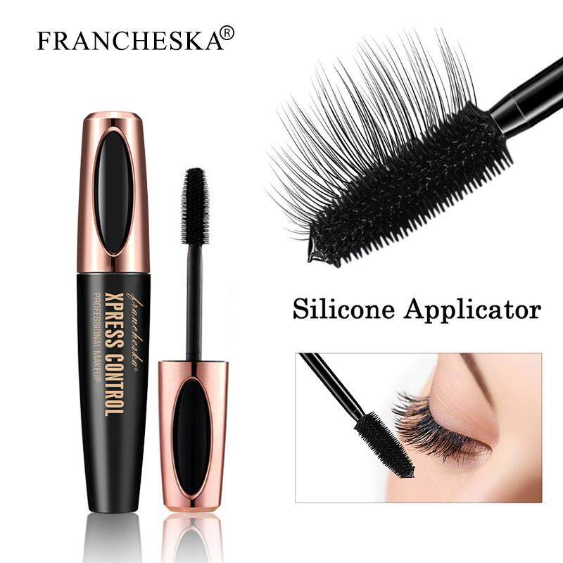 4D Silk Fiber Eyelash Mascara Waterproof Rimel maquiagem profissional completa makeup for Eyelashes Extension maskara