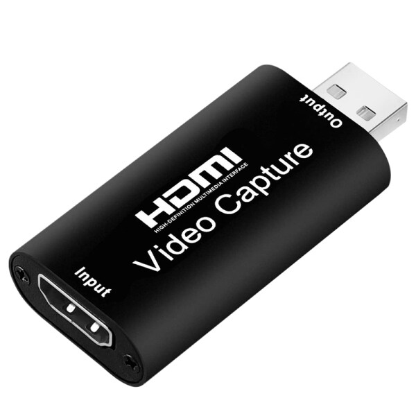 Giá Audio Video Capture Cards HDMI to USB 2.0 1080P 4K Record Via DSLR Camcorder Action Cam for High Definition Acquisition