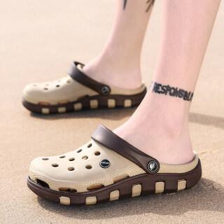 Chàng Trai Lỗ Giày Trẻ Em Dép Lớn Mặc Cho Bé Trai, Trẻ Em Gái Bãi Biển Dép Chống Trượt Mềm Bao Đầu thumbnail