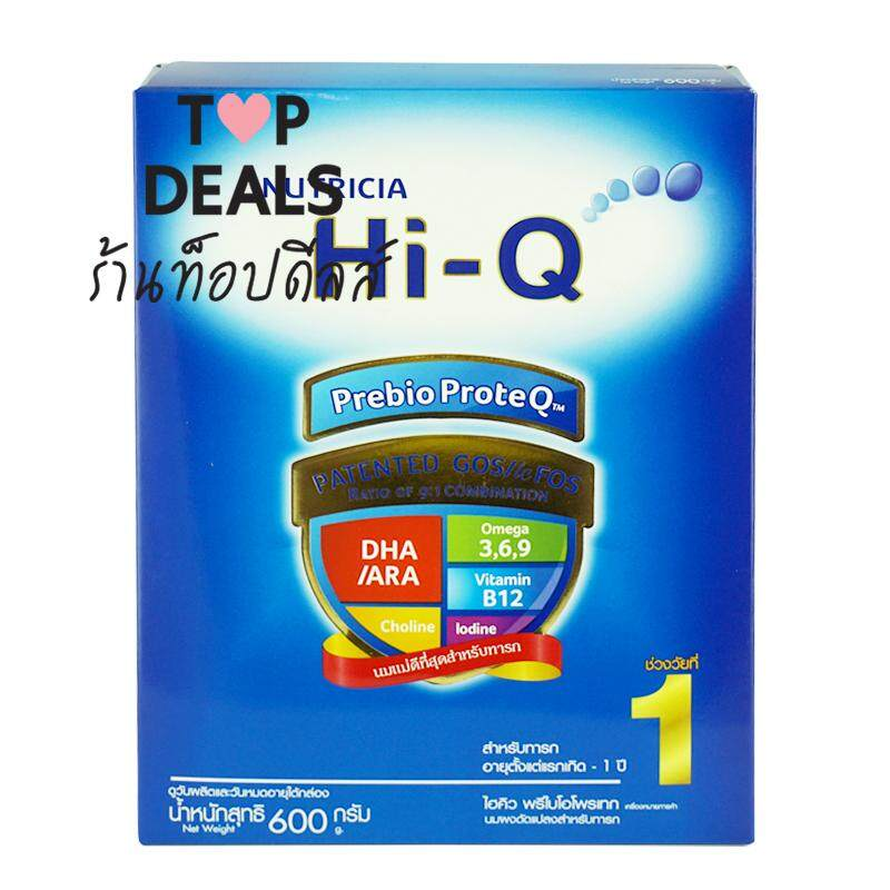 Hi-Q Prebio Proteq Step 1 250 G.นมผงดัดแปลงสำหรับทารก ช่วงวัยที่ 1 ขนาด 600 กรัม. By Top Deals.