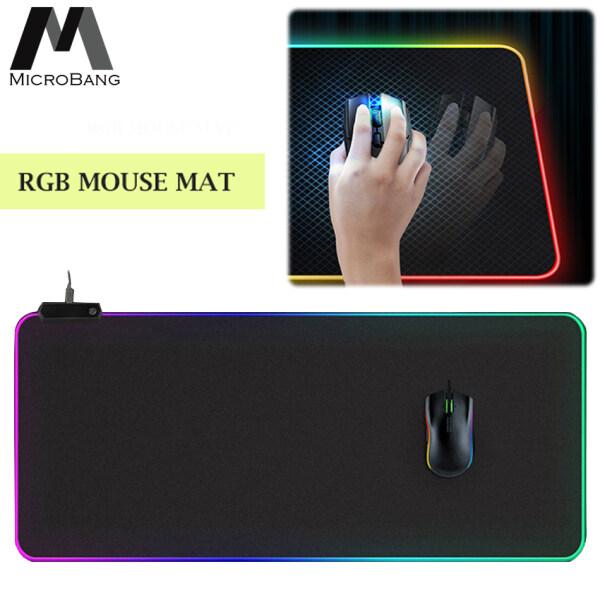 MicroBang Gaming Mouse Pad Extended Large Mouse Pad LED Mouse Pad RGB Mouse Pad with Non-Slip Rubber Base Malaysia