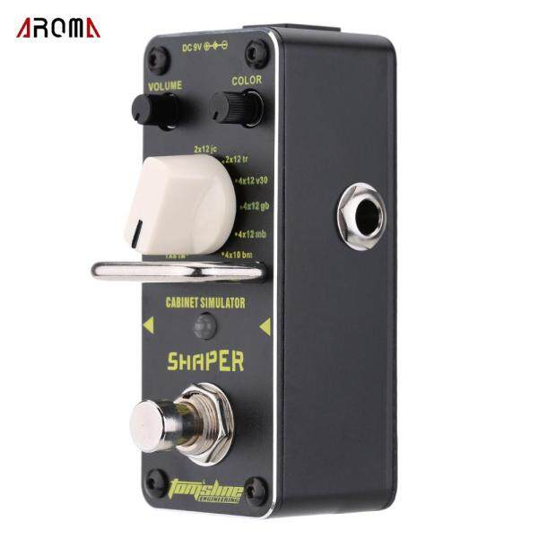 AROMA ASR-3 Shaper Cabinet Simulator Mini Single Electric Guitar Effect Pedal with True Bypass Malaysia
