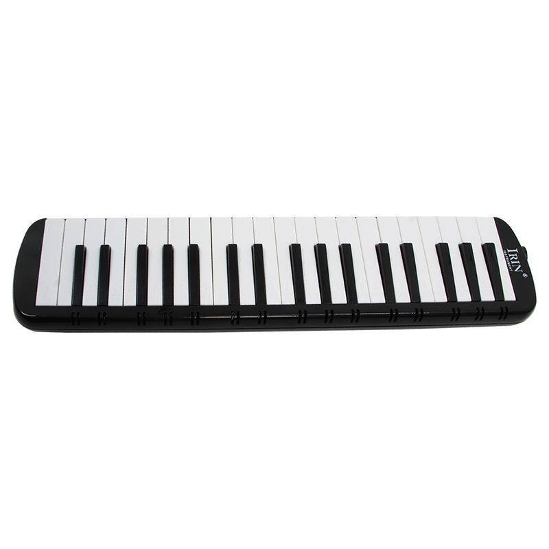 IRIN Black 37 Piano Keys Melodica Pianica w/Carrying Bag For Students New Malaysia