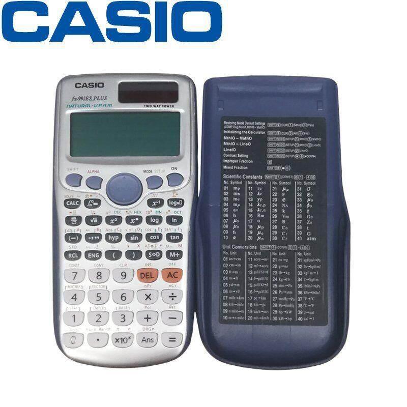Casio เครื่องคิดเลขวิทยาศาสตร์คาสิโอ รุ่น Fx-991es Plus.