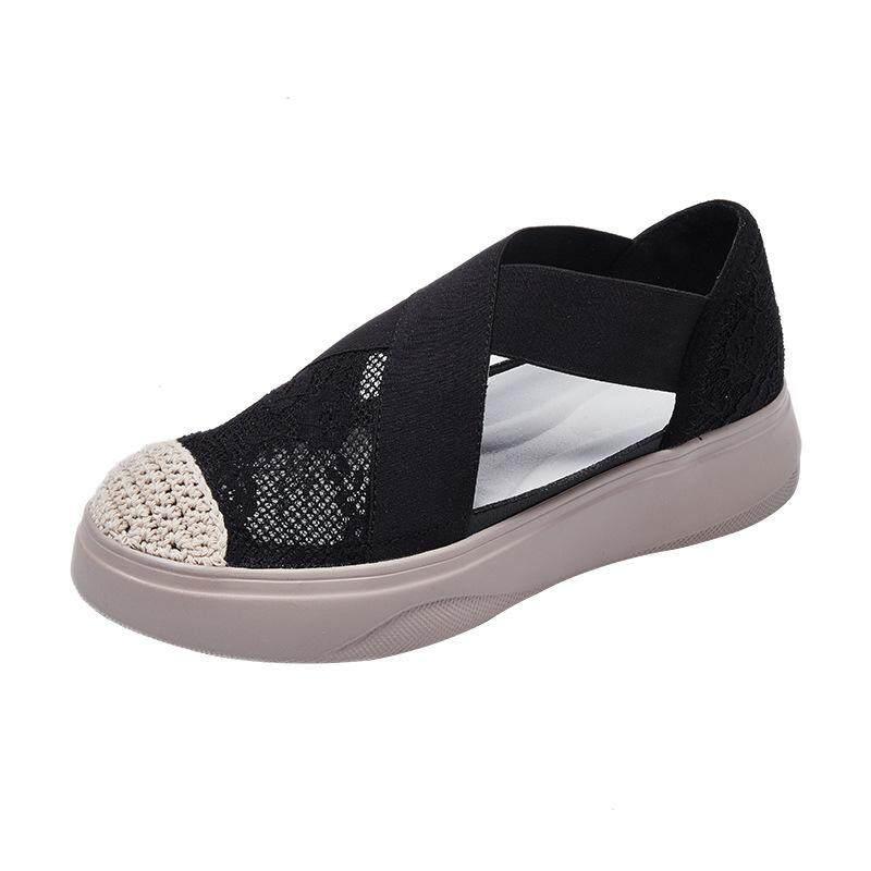 รองเท้า รองเท้าผ้าใบ รองเท้าผ้าใบผู้หญิง ใส่สบาย มี 2 สี
