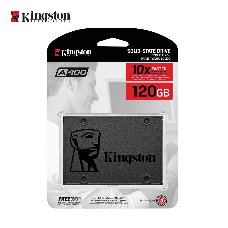 Kingston Ssd Kingston A400 120gb 2.5  Sata3 (sa400s37/120g).