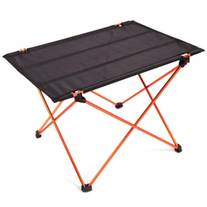 Mua Portable Foldable Folding Table Desk Camping Outdoor Picnic Aluminium Alloy Ultra-Light Stall Table Leisure Outdoor Folding Table