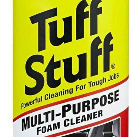Tuff Stuff โฟมทำความสะอาด เบาะหนัง เบาะผ้า โซฟา Tuff Stuff Foam Cleaner น้ำยาทำความสะอาดอเนกประสงค์ Tuff Stuff ราคาโฟม ทำความสะอาด Tuff Stuff โฟมทำความสะอาดอเนกประสงค์ โฟมทำความสะอาดกระเป๋า โฟมทําความสะอาดเบาะผ้า น้ํายาทําความสะอาดเบาะหนัง ครีมทำความสะอาด.