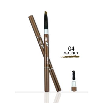 3D ART AUTO EYEBROW PENCIL ดินสอเขียนคิ้ว (0.3ml.) NO.04 WALNUT-
