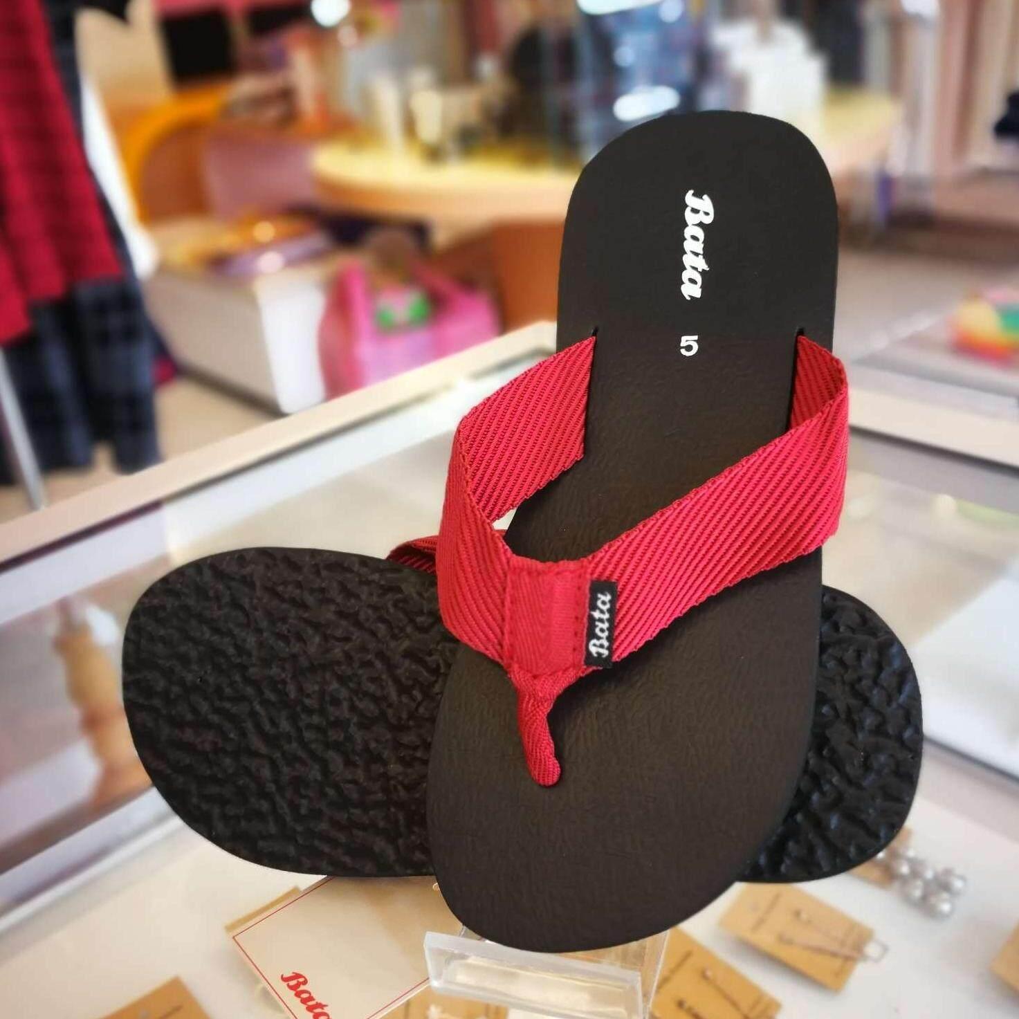 Bata รองเท้าบาจา สีดำ แดง น้ำตาล ไซด์ 38-43  *มีเก็บเงินปลายทาง* รุ่น 4082 5082 6082