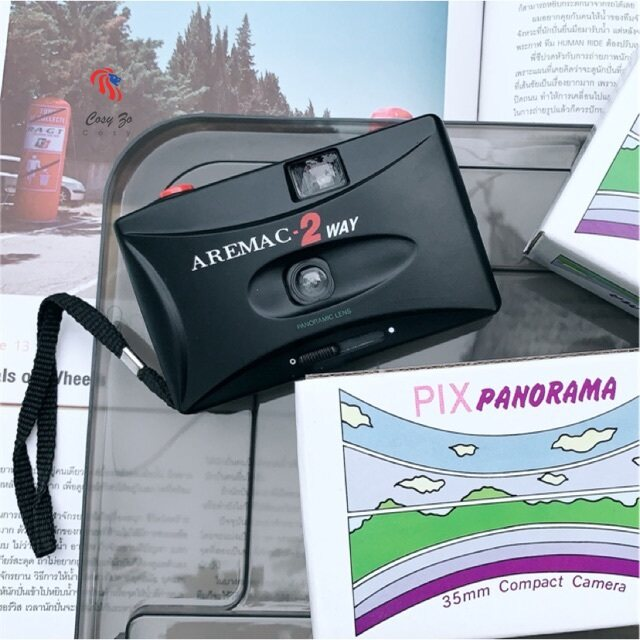 กล้องฟิล์มคอมแพค Aremac-2 Way (มีภาพตัวอย่าง).