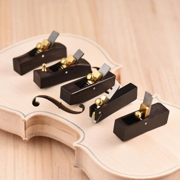 Woodworking Plane Cutter Ebony Luthier Tool Set for Violin Viola Cello Wooden Instrument Malaysia