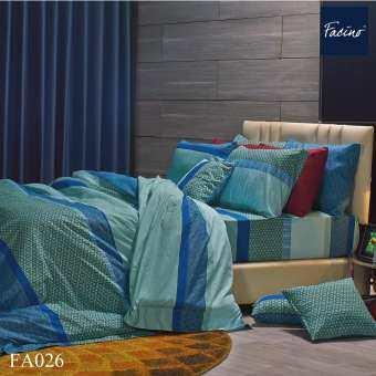 Premier Satin ผ้าปูที่นอน (ขนาด 5ฟุต และ 6ฟุต) รุ่น Facino พิมพ์ลาย (ไม่รวมผ้านวม)-