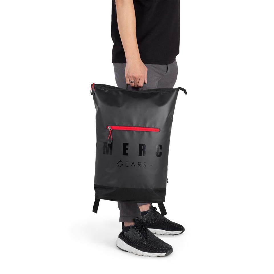 Merc Gears กระเป๋าเป้ผ้าใบกันน้ำ  Sven Black Edt.