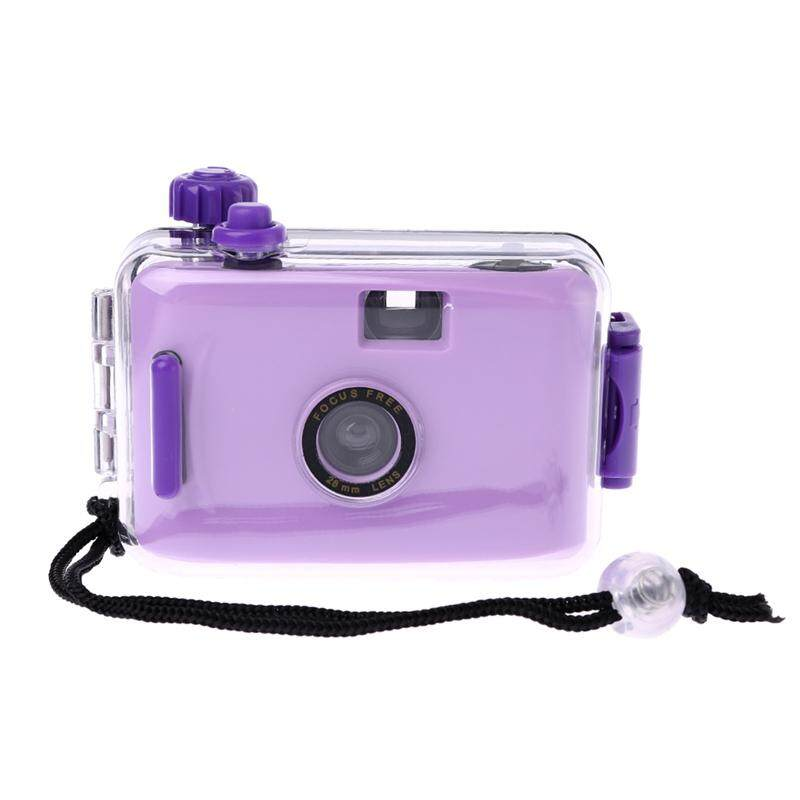 Mã Giảm Giá Kids Film Camera Vintage Film Camera Waterproof And Shockproof With Housing Case