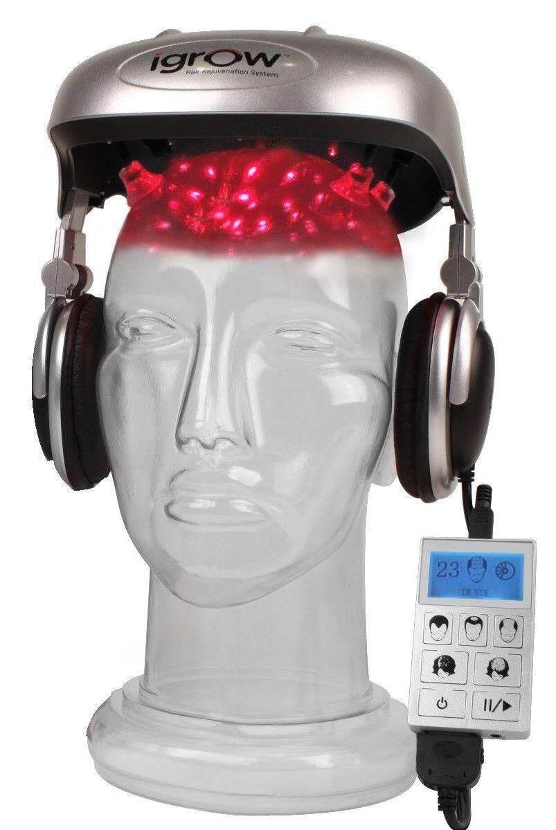 หมวกเลเซอร์ Igrow Laser ราคา หมวกปลูกผม วิธีแก้ผมร่วง   Igrow.