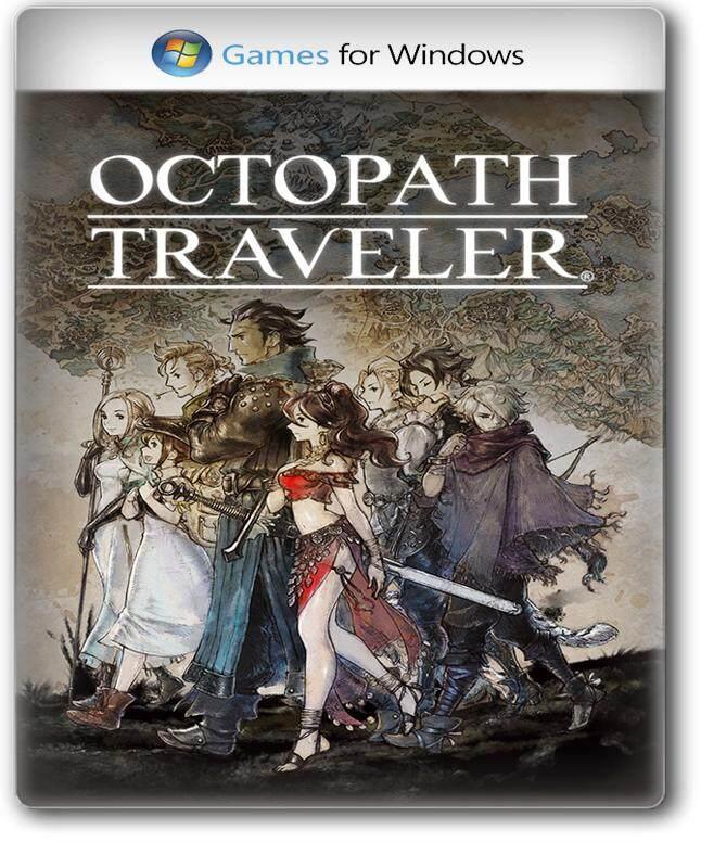 แผ่นเกม Pc - Octopath Traveler [pc Game] เกมแนว Rpg มาใหม่ ภาพสวยน่าเล่น.