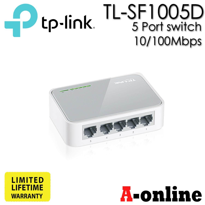 Tp-Link Tl-Sf1005d 5 Port 10/100mbps Switch/aonline.
