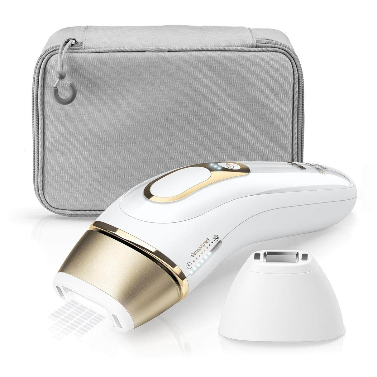 Braun Ipl Silk·expert Pro 5 Pl5117 Latest Generation Ipl 400,000 Flashes, Permanent Visible Hair Removal, With Premium Pouch, Venus Razor And Precision Head.